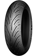 Motopneu, Michelin, 180/55 ZR17, Pilot ROAD 4 GT Rear M/C, 73W, TL